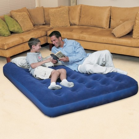 DOUBLE FLOCKED - Inflatable mattress - Bestway DOUBLE FLOCKED