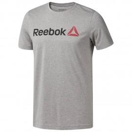 Reebok QQR-REEBOK LINEAR READ - Мъжка спортна тениска