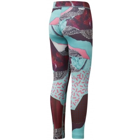 Kids' tights - Reebok GIRL SQUAD MATERIAL GIRL LEGGING - 2