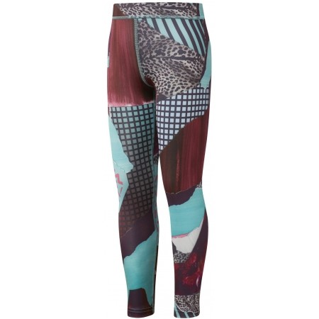 Kids' tights - Reebok GIRL SQUAD MATERIAL GIRL LEGGING - 1