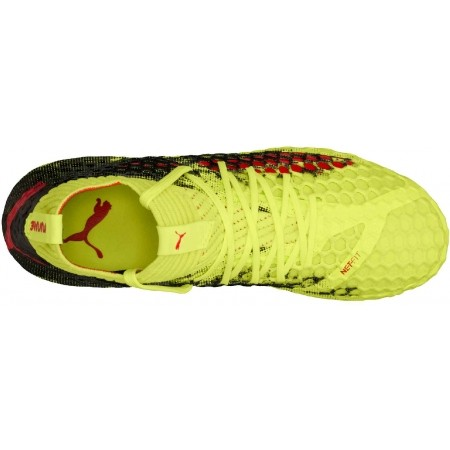 Ghete fotbal juniori - Puma FUTURE 18.4 FG/AG JR - 4