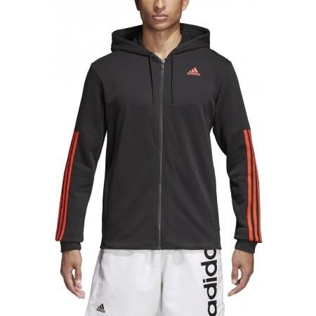 Men's sweatshirt - adidas COMM M FZ FL - 5