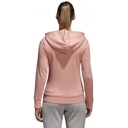 Women's sweatshirt - adidas ESSENTIALS SOLID FULLZIP HOODIE - 3