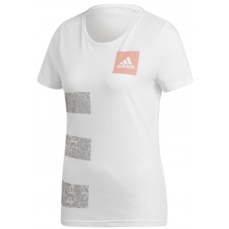 Women's T-shirt - adidas THREE STRIPES W - 1