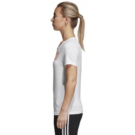 Women's T-shirt - adidas THREE STRIPES W - 3
