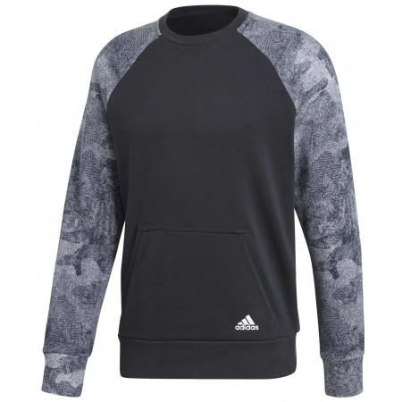 Men's sweatshirt - adidas CLASSICS 3S PULLOVER FLEECE - 1