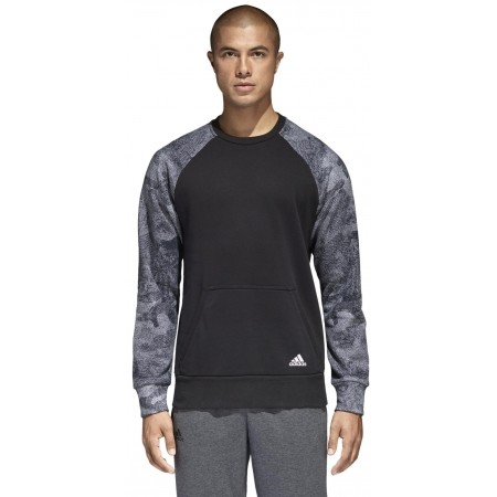 Men's sweatshirt - adidas CLASSICS 3S PULLOVER FLEECE - 2