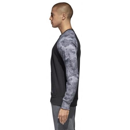 Men's sweatshirt - adidas CLASSICS 3S PULLOVER FLEECE - 4