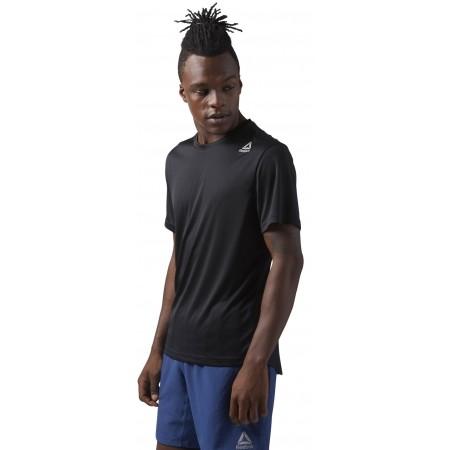 Men's sports T-shirt - Reebok RUN SS TEE M - 2