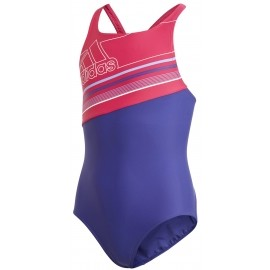 adidas SPRINGBREAK SUIT BADGE OF SPORT - Dívčí dětské plavky