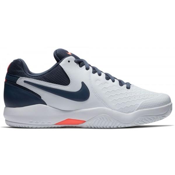 Nike AIR ZOOM RESISTANCE biela 9.5 - Pánska tenisová obuv