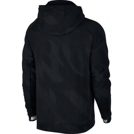 Herren Sweatshirt - Nike AV15 HOODIE FLC FZ AOP - 2