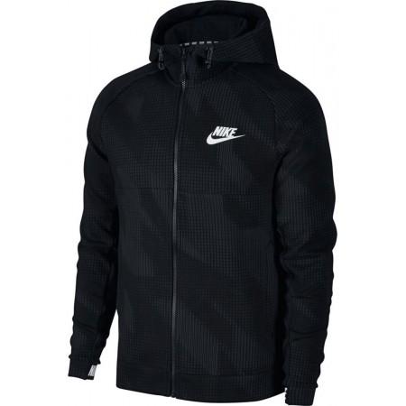Herren Sweatshirt - Nike AV15 HOODIE FLC FZ AOP - 1