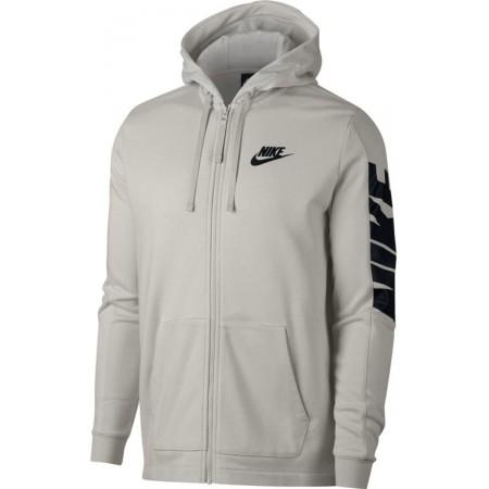 Herren Sweatshirt mit Kapuze - Nike HOODIE FT FZ HYBRID - 1