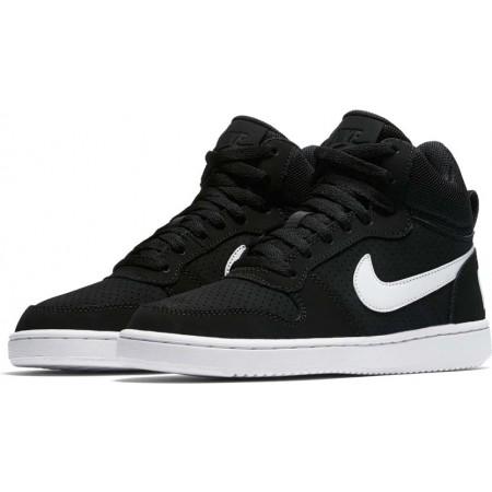 Dámská volnočasová obuv - Nike COURT BOROUGH MID - 4