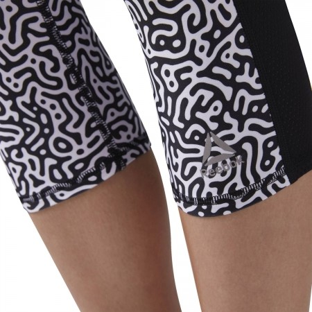 Дамски капри панталони - Reebok RE CAPRI W - 4