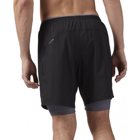 Men's shorts - Reebok RE 2-1 SHORT - 2