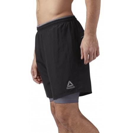 Men's shorts - Reebok RE 2-1 SHORT - 3