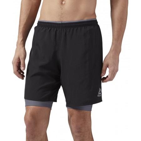 Men's shorts - Reebok RE 2-1 SHORT - 1