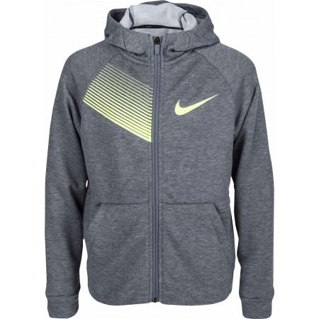 best sneakers 4dbea ac71c Bluza chłopięca - Nike DRY TRAINING HOODIE - 1