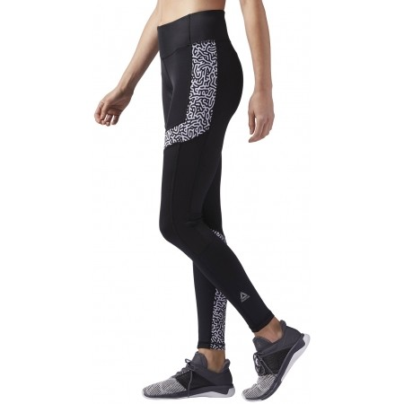Women's running tights - Reebok RE TIGHT P2 W - 3