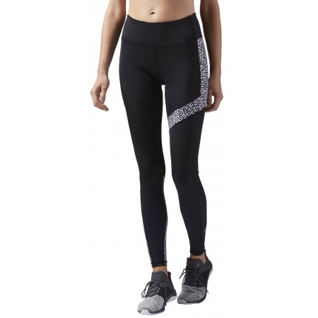 Women's running tights - Reebok RE TIGHT P2 W - 1