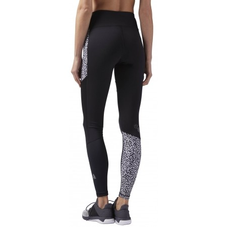 Women's running tights - Reebok RE TIGHT P2 W - 2