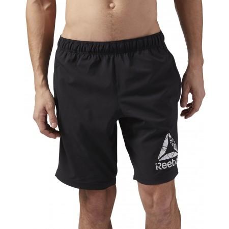 Men's shorts - Reebok COMMERCIAL CHANNEL WOVEN SHORT - 2