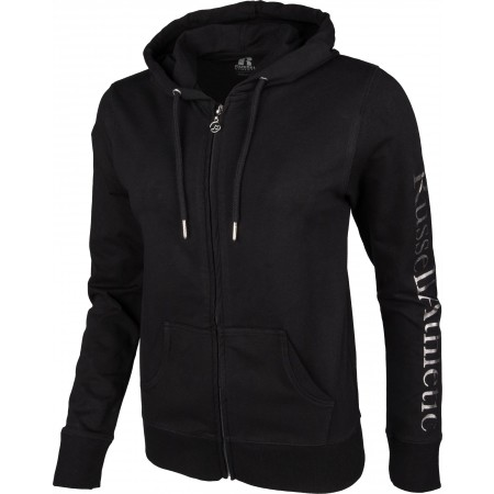 Hanorac damă - Russell Athletic ATHLETIC SILVER HOODY - 2
