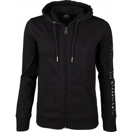 Hanorac damă - Russell Athletic ATHLETIC SILVER HOODY - 1