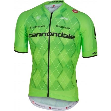 Pánský cyklistický dres - Castelli TEAM 2.0 JERSEY FZ - 1