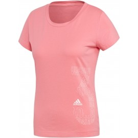 adidas W GFX TEE - Women's sports T-shirt