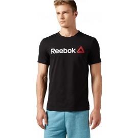 Reebok QQR-REEBOK LINEAR READ - Pánske tričko