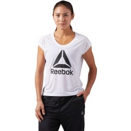 Reebok WOR SUPREMIUM 2.0 TEE BIG - Women's sports T-shirt