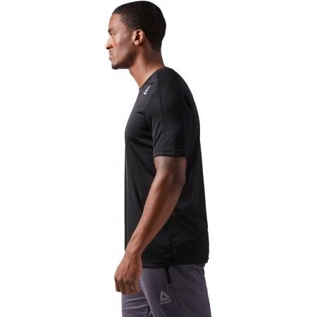 Men's sports T-shirt - Reebok COMMERCIAL CHANNEL SHORT SLEEVE - 2