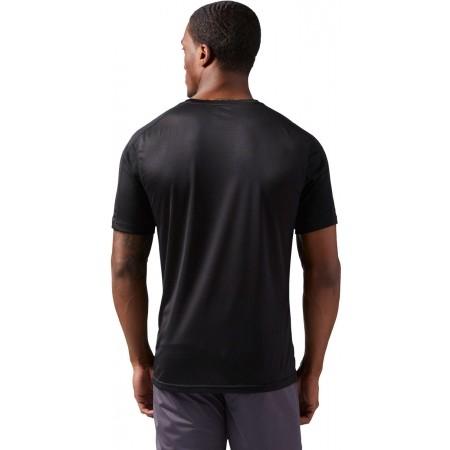 Men's sports T-shirt - Reebok COMMERCIAL CHANNEL SHORT SLEEVE - 3