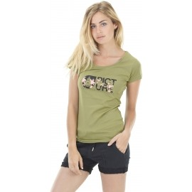 Picture BASEMENT PALM - Women's T-shirt with a print