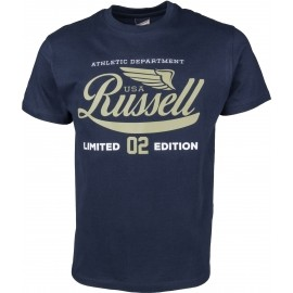 Russell Athletic S/S NECK CREW RA PRINT - Men's T-shirt
