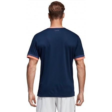 Koszulka tenisowa męska - adidas CLUB 3 STRIPES TEE - 4