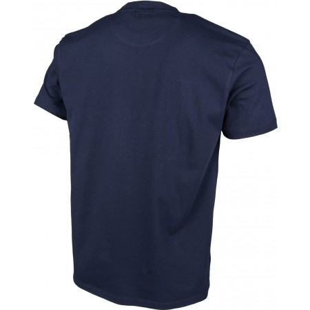 Men's T-shirt - Russell Athletic S/S CREW TEE WITH LARGE RA MESH EFFECT RAISED PRINT - 3
