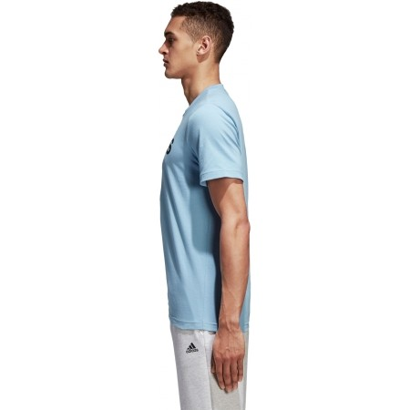 Men's T-shirt - adidas COMMCERCIAL LINEAR TEE - 3