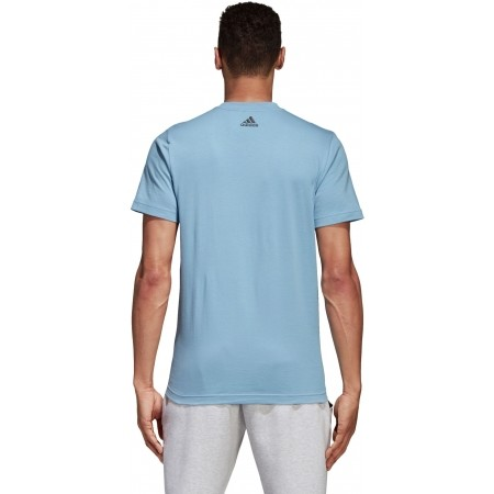 Men's T-shirt - adidas COMMCERCIAL LINEAR TEE - 4