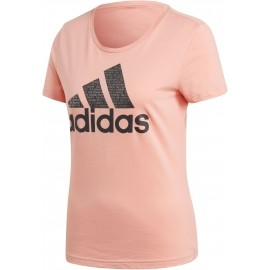 adidas FOIL TEXT BOS - Women's T-shirt