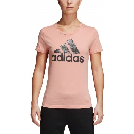 Women's T-shirt - adidas FOIL TEXT BOS - 5