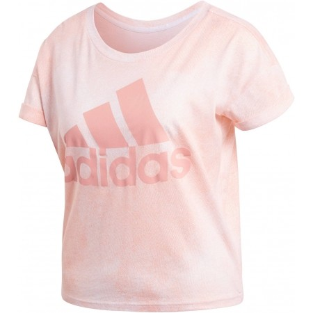 Women's T-shirt - adidas ALL OVER PRINTED T-SHIRT - 1
