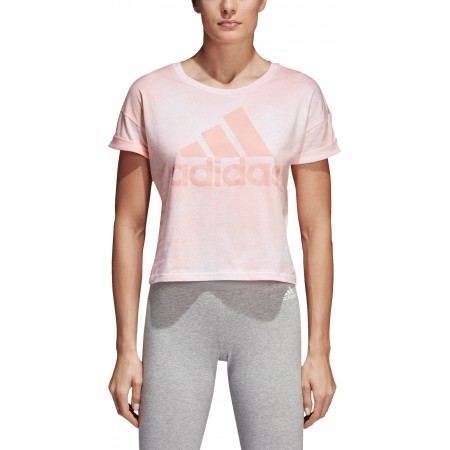 Women's T-shirt - adidas ALL OVER PRINTED T-SHIRT - 5