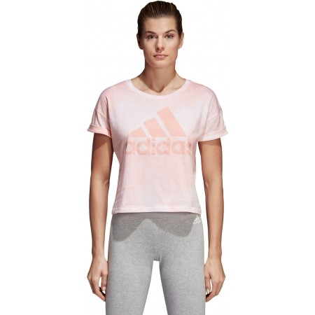Women's T-shirt - adidas ALL OVER PRINTED T-SHIRT - 2