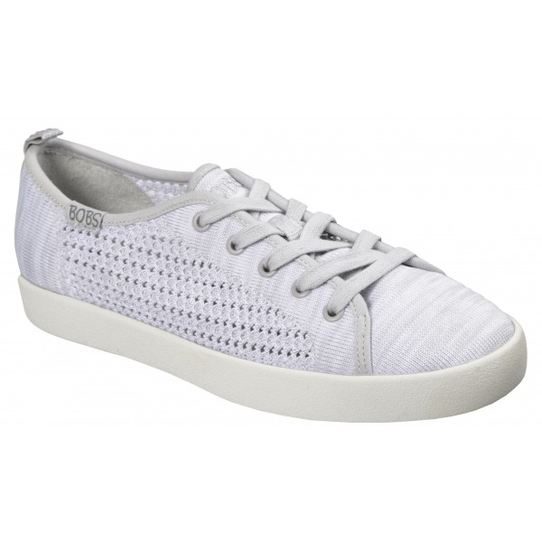Skechers BOBS B-LOVED SPRING BLOSSOM biały 37.5 - Obuwie lifestylowe damskie
