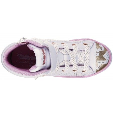 Dievčenské tenisky - Skechers SHUFFLES POP DAZZLE - 4