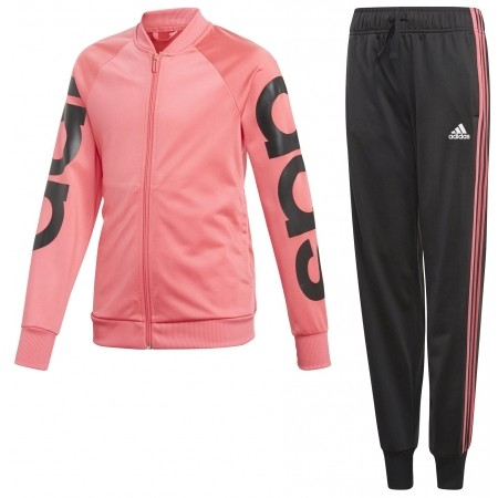 Children's suit - adidas LINEAR POLYESTER TRACKSUIT - 1
